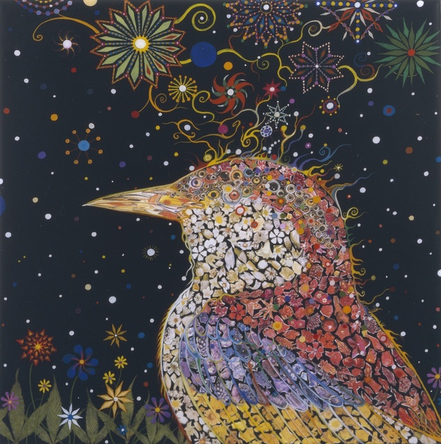Fred Tomaselli, 'Bird Head,' 2005, White Cube