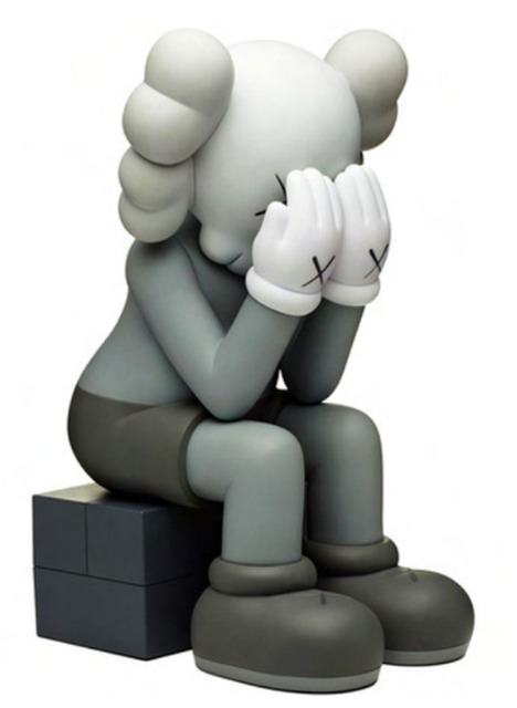 KAWS, 'Passing Through (Grey)', 2013, Lougher Contemporary