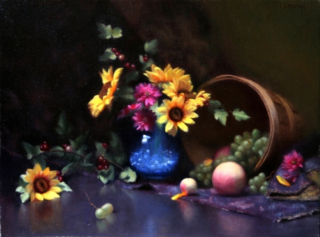 Lynne B. Mehlman, 'Fruit and Sunflowers', ca. 2018, The Guild of Boston Artists