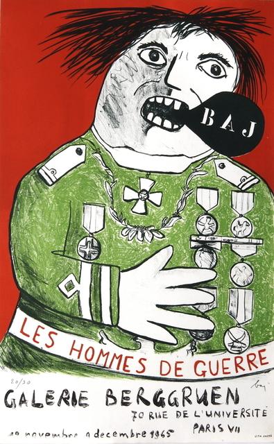 , 'Les Hommes De Guerre,' 1965, ArtWise