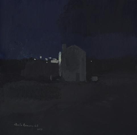 ", '""La Casa de noche"",' 2017, Sala Parés"