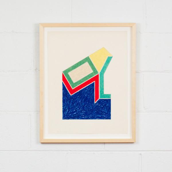 "Frank Stella ""MOULTONVILLE"", 1974"