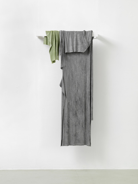 , 'two rags (hanging),' 2016, Galerie Jochen Hempel