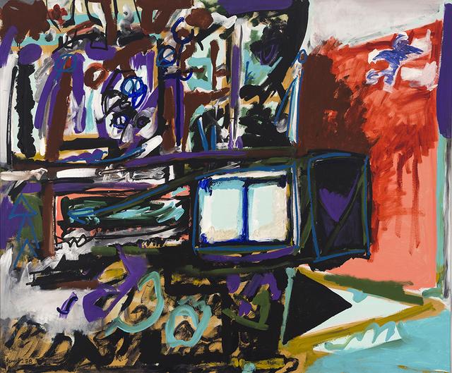, 'L'évêque en folie,' 1978, Galerie Simon Blais