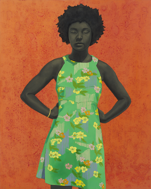 Amy Sherald, 'The Make Believer (Monet's Garden)', 2016, The Studio Museum in Harlem