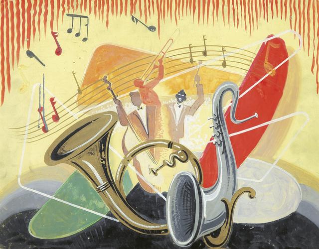 , 'Jazz Musicians,' ca. 1939, Rennert's Gallery