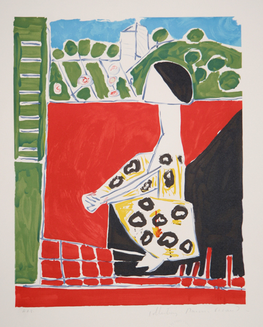 Pablo Picasso, 'Femme Accroupi', 1979-1982, Print, Lithograph on Arches paper, RoGallery