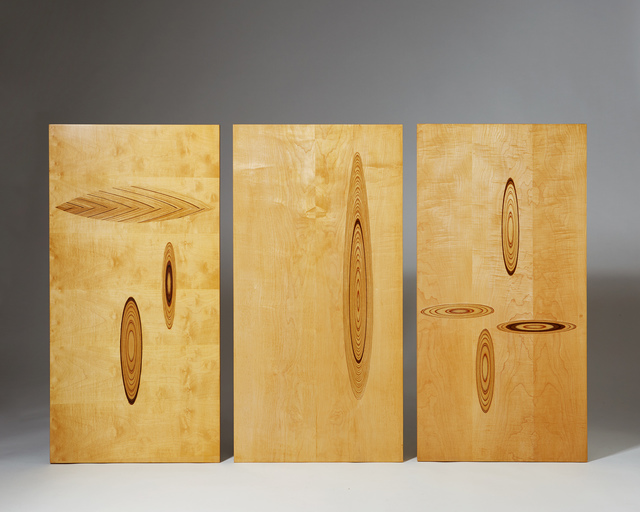 , 'Set of wall panels,' 1950-1959, Modernity