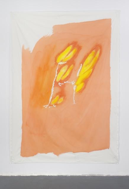 , 'Late Checkout (burning man),' 2015, Simone Subal