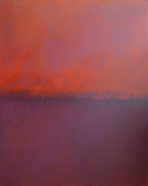 , 'Warm Orange Steaming (an end of day light),' 2016, Tanya Baxter Contemporary