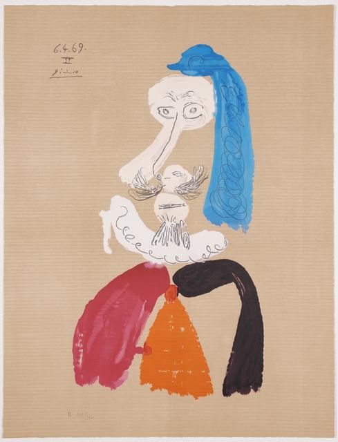 Pablo Picasso, 'Portraits Imaginaires 6.4.69 II', 1969, Van der Vorst- Art