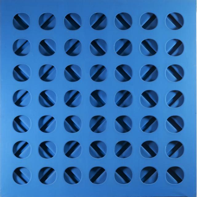 , 'Intersuperficie curva dall'azzuro,' 1966, Tornabuoni Art