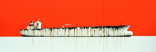 , 'Tanker 77 (triptych),' 2019, Quantum Contemporary Art
