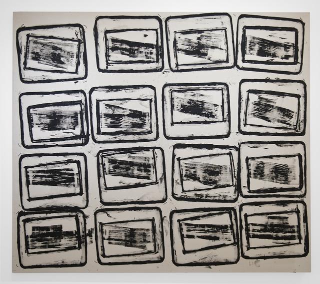 Gerald Ferguson, '16 Ashcans', 2006, FRED.GIAMPIETRO Gallery