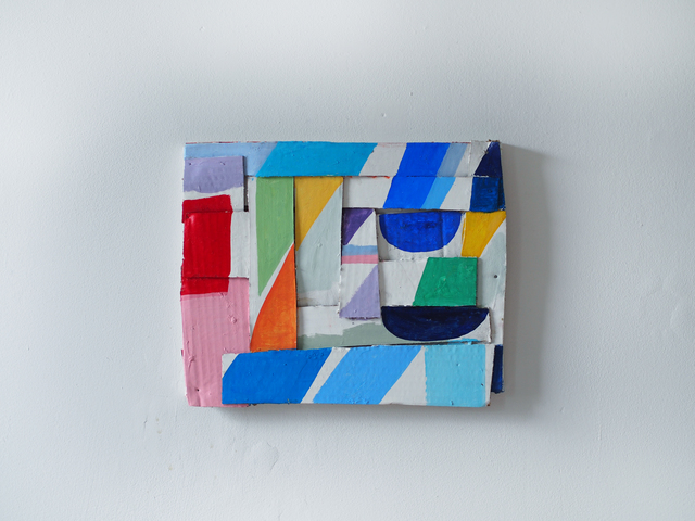 , 'Colored Strips,' 2015, Josée Bienvenu