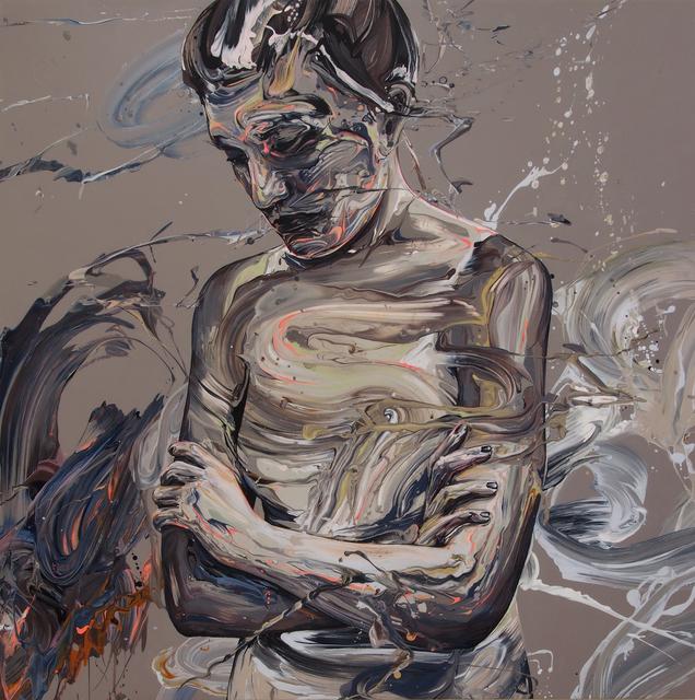 , 'Transcription 50 (Fog),' 2018, Joseph Nease Gallery