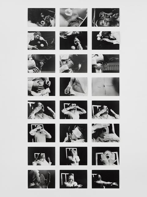 Gina Pane, 'Psyché (Essai), 24 janvier 1974', 1974, Richard Saltoun
