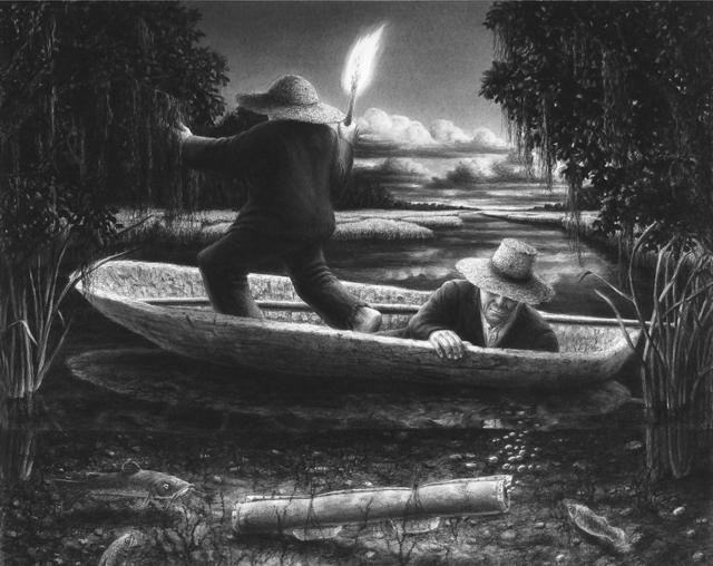 Steve Galloway, 'Mystery of B. Wilbur and the Swamp Bottom', 2009, ROSEGALLERY
