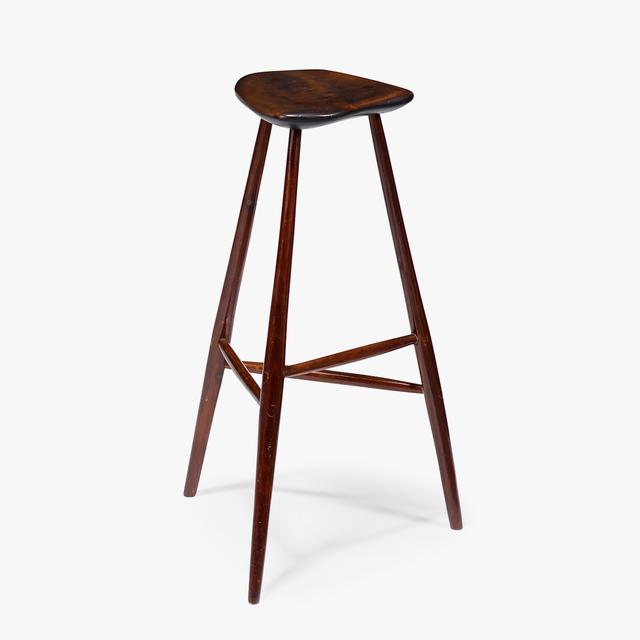 Fantastic Wharton Esherick Three Legged Stool Paoli Pennsylvania Inzonedesignstudio Interior Chair Design Inzonedesignstudiocom