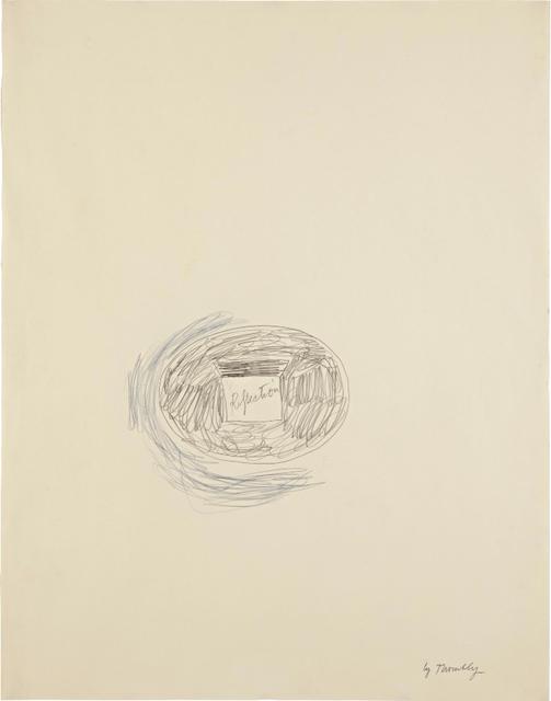 , 'Reflection,' 1965, André Viana