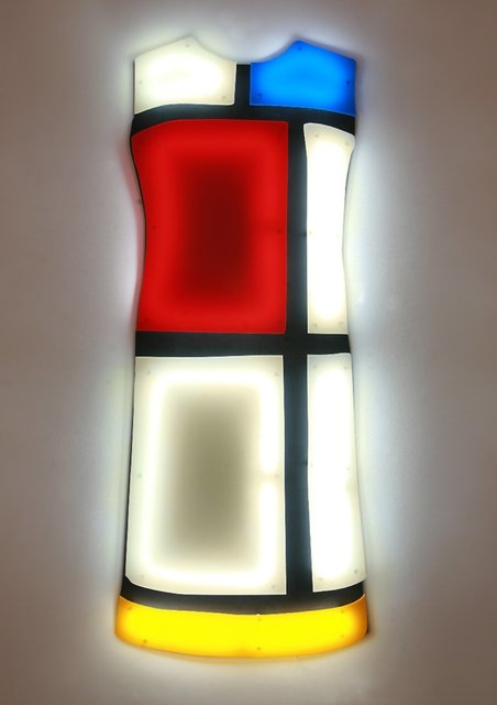 , 'Mondrian Dress Ivory,' 2012, Cynthia Corbett Gallery