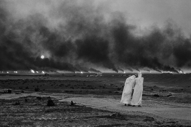 , 'Oil wells. Greater Burhan, Kuwait.,' 1991, Hafez Gallery