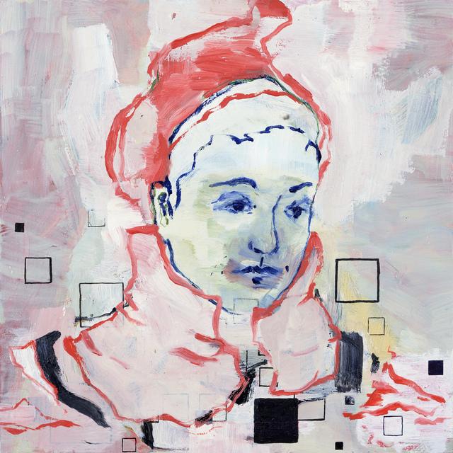 , 'CR mit roter Mütze,' 2018, Josef Filipp Galerie