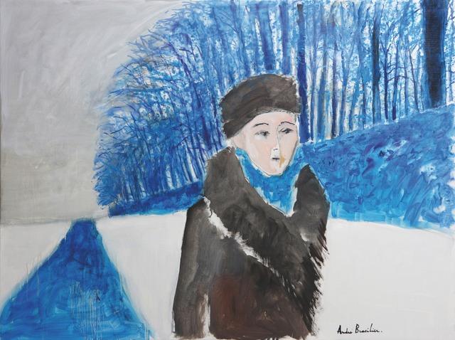 , 'Promenade d'hiver,' 2015, Opera Gallery