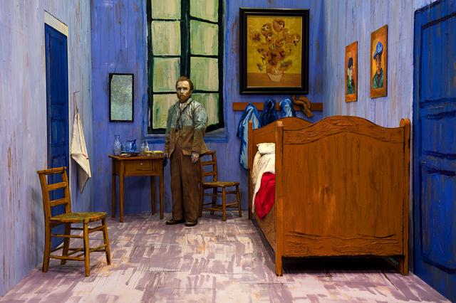 , 'Self-Portraits through Art History (Van Gogh's Room),' 2016, Luhring Augustine