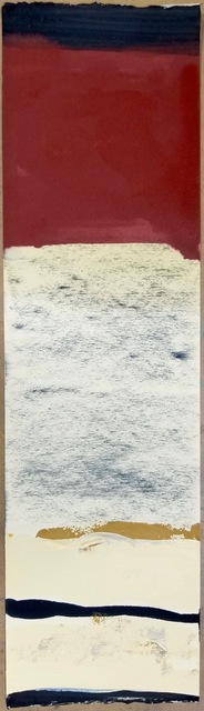 Daniel Martin Sullivan, 'Outside', 2021, Drawing, Collage or other Work on Paper, Oil and Charcoal on Rives BFK, The Art House