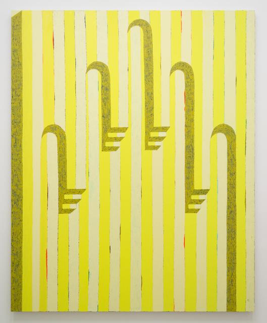 Matt Kleberg, 'Higher Hand (Lemon)', 2018, Morgan Lehman Gallery