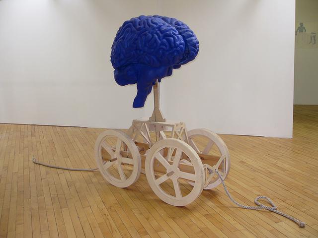 , 'The Thinking Brain,' , Dab Art