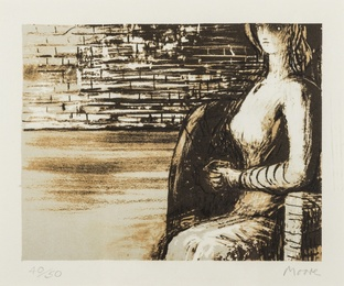 Henry Moore, 'Woman with Clasped Hands (Cramer 444),' 1976, Forum Auctions: Editions and Works on Paper (March 2017)