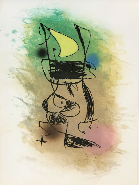 Joan Miró, 'LE GRILLON SOUS LA LUNE', 1978, Gallery Art