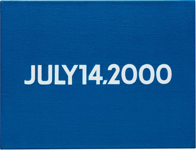 On Kawara, 'Friday July 14, 2000 (Today series no. 26)', 2000, Phillips