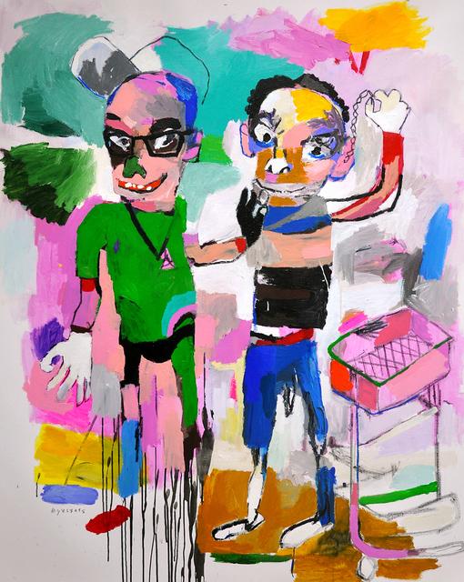 , 'solamente tu pudes imperdito,' 2018, Galerie Heike Strelow