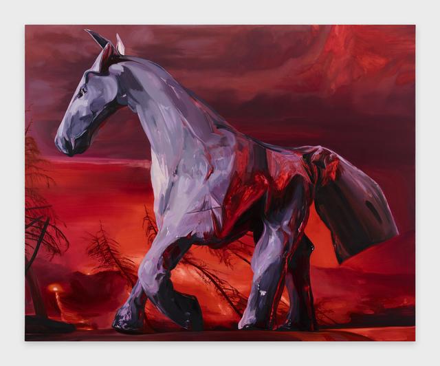 , 'Last Horse,' 2019, Diane Rosenstein