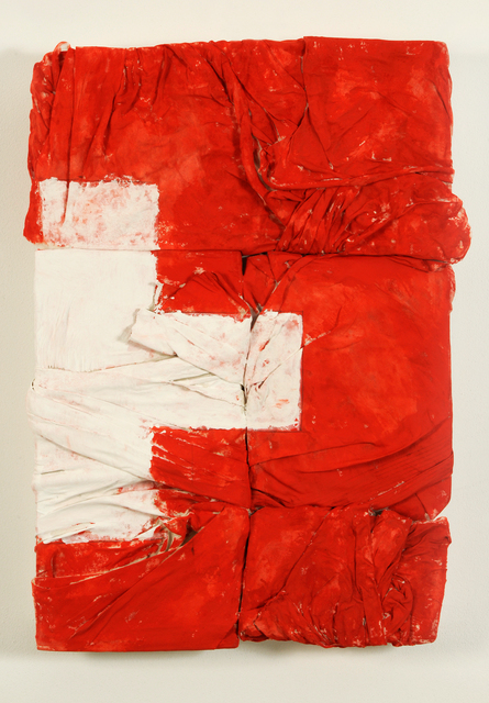 , ' INCOMPLETE FLAG HALF SVIZZERA ,' 2017, Contini Art Gallery