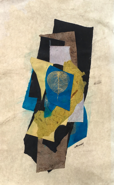 Leonard Brooks, 'Untitled', ca. 2006, Drawing, Collage or other Work on Paper, Collage on paper, Rumi Galleries
