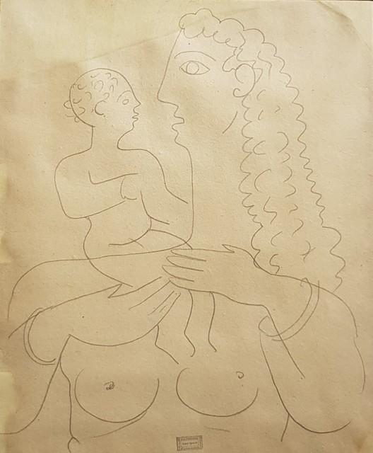 , 'Maternité [dessin],' C.1935, Galerie Marie-Robin