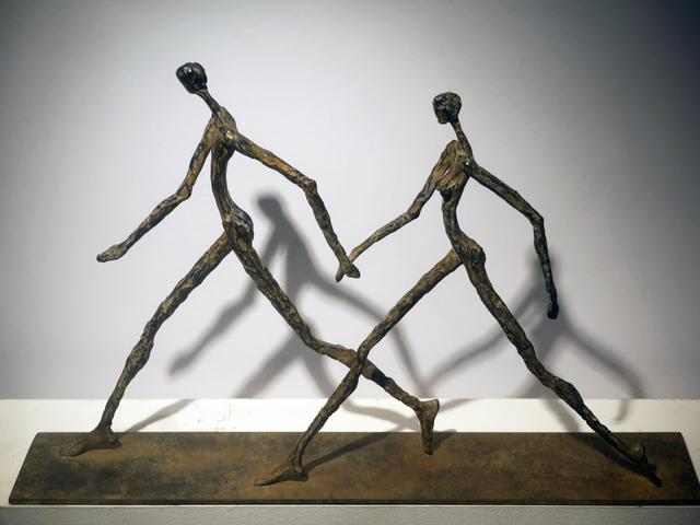 , 'Lui et Elle,' 2016, Galerie Geraldine Banier