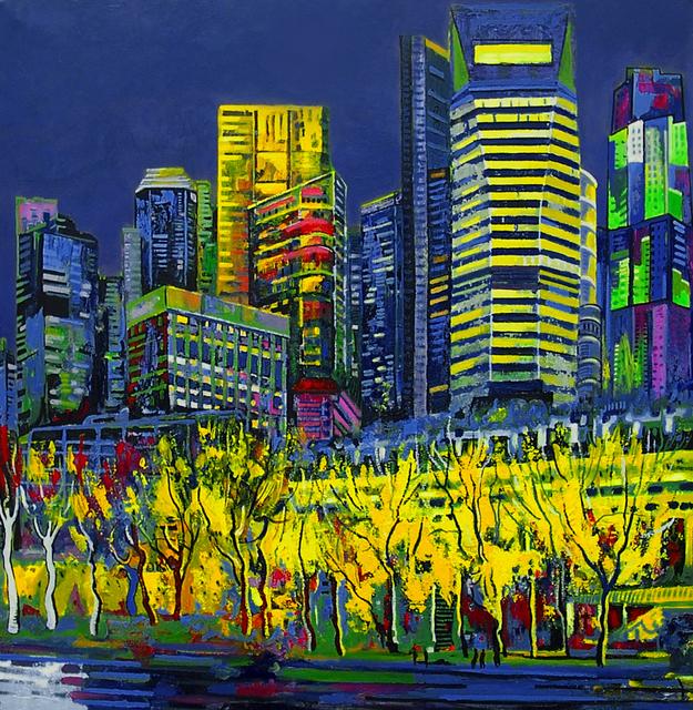 , 'Yellow Fullerton,' 2014, Barnadas Huang