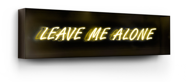 David Drebin, 'Leave Me Alone', 2013, Isabella Garrucho Fine Art