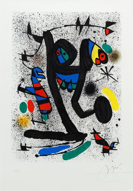 Joan Miró, 'Butterfly Girl, La Demoiselle aux Papillons for Derrière le Miroir', 1971, Hindman