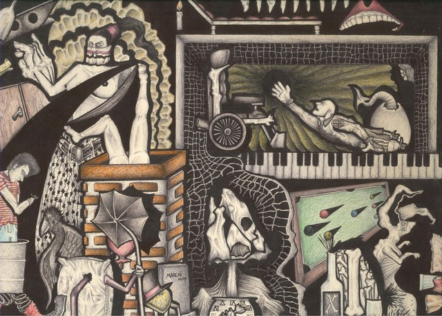 Marcus Marchi Jr., 'LUNATIC HOSTING - the forethought', 2019, Ligia Testa Espaço de Arte