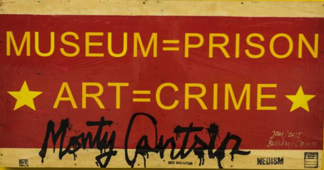 , 'Neoist Cultural Revolution (detail 2),' 2015, Robert Kananaj Gallery