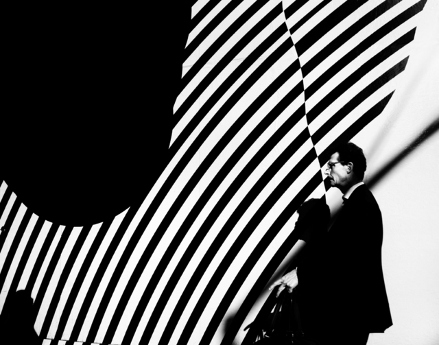 , 'Man with Striped Wall ,' , Soho Photo Gallery