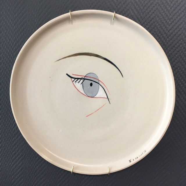 , 'Eye leaning,' 2019, Antonine Catzéflis