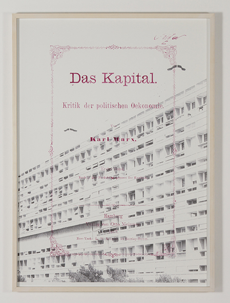 , 'Das Kapital,' 2015, Galería Tiro Al Blanco