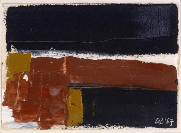 , 'Small Dark Landscape,' 1967, Waterhouse & Dodd